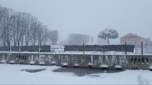Piazzale Maslax Baobab Experience sotto la neve- Let Us Live