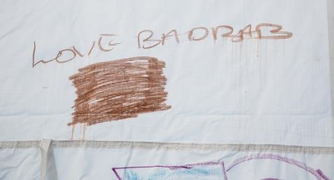 Tenda dei popoli Piazzale Maslax - Love Message