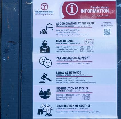 Tenda dei popoli Piazzale Maslax - Informazioni