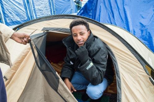 PIazzale Maslax- La mia tenda