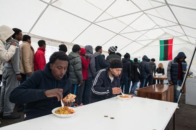 PIazzale Maslax- Tenda dei Popoli - Pranzo