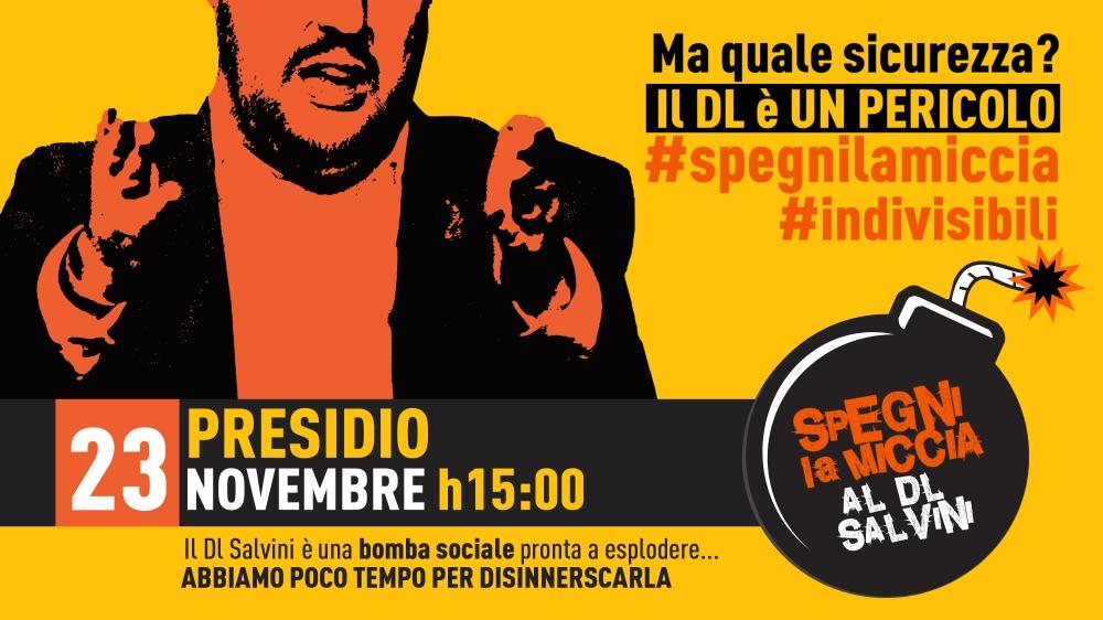 banner evento 23spegnilamiccia